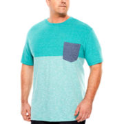 The Foundry Supply Co.™ Contrast Pocket Tee - Big & Tall