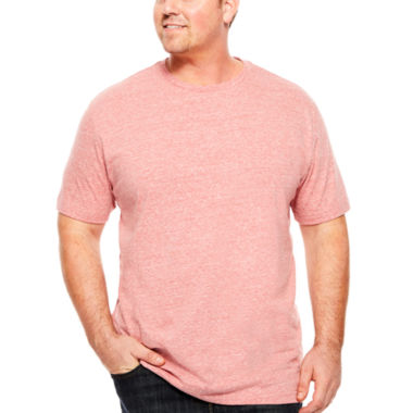 jcpenney.com | The Foundry Big & Tall Supply Co.™ Heather Tee