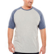 The Foundry Supply Co.™ Contrast Raglan Tee - Big & Tall