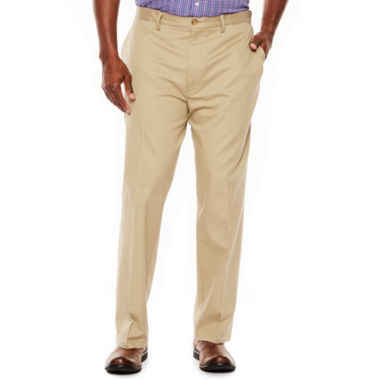 jcpenney.com | The Foundry Big & Tall Supply Co.™ Worry-Free Flat-Front Pants
