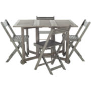 Suri 4-pc. Outdoor Dining Set
