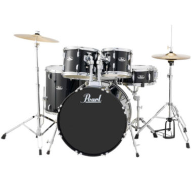 jcpenney.com | Pearl Roadshow RS525S 5-pc. Drumset with Hardware & Cymbals