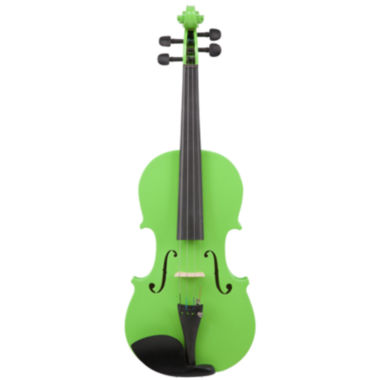 jcpenney.com | Le'Var 4/4 Student Violin Outfit - Neon Lime