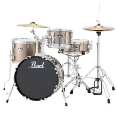 jcpenney.com | Pearl Roadshow RS584 4-pc. Drumset with Hardware & Cymbals