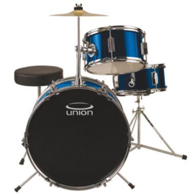 jcpenney.com | Union UJ3 3-pc. Junior Drum Set with Hardware, Cymbal and Throne