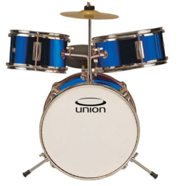 jcpenney.com | Union UT3 3-pc. Toy Drum Set with Cymbal and Throne