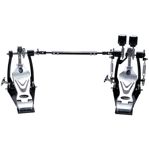 Union DDPD-669 700 Series Double Chain Double Bass Drum Pedal + Bag