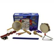 Rhythm Band BB225RS Bing Bang Boom 10-Player Rhythm Kit - Includes DVD