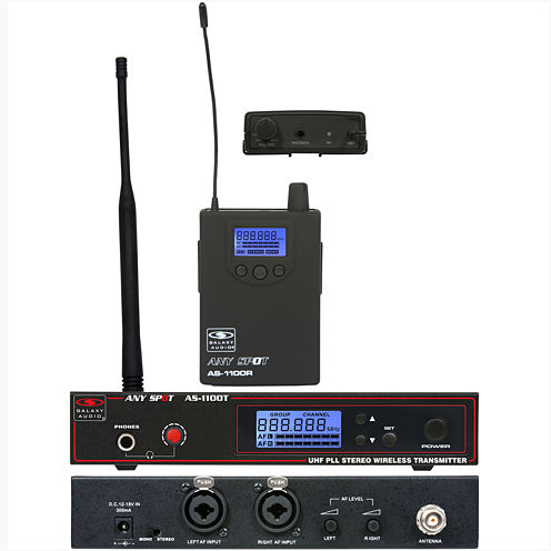 Galaxy Audio AS-1100 UHF - L band