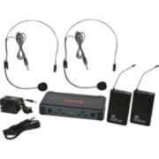 Galaxy Audio ECDR/HHBPV Dual Channel Wireless Microphone System