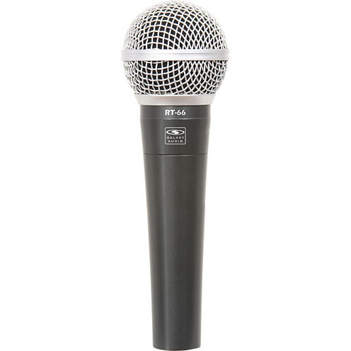 Galaxy RT66P Handheld Dynamic Microphone with 15' 1/4 Cable