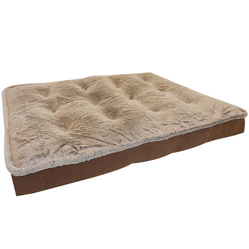 ORTHOLUX™ Orthopedic Foam Balleny Micro-Mink Mattress Pet Bed