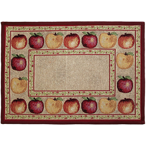 Apple Variety Rectangular Rug