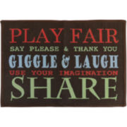 Play Fair Rectangular Rug