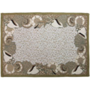 Shell Paradise Rectangular Rug