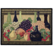 Wine Classics Rectangular Rug