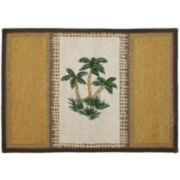 Palm Oasis Rectangular Rug