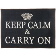Keep Calm Rectangular Rug