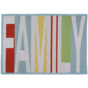 Family Rectangular Rug
