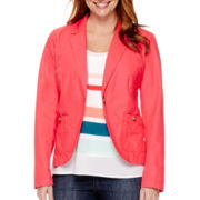 Liz Claiborne® Long-Sleeve Blazer