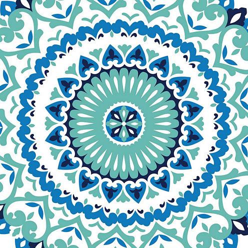 Jasmine Medallion Peel-and-Stick Wallpaper