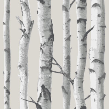 jcpenney.com | Birch Tree Peel-and-Stick Wallpaper