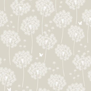 jcpenney.com | Dandelion Taupe Peel-and-Stick Wallpaper