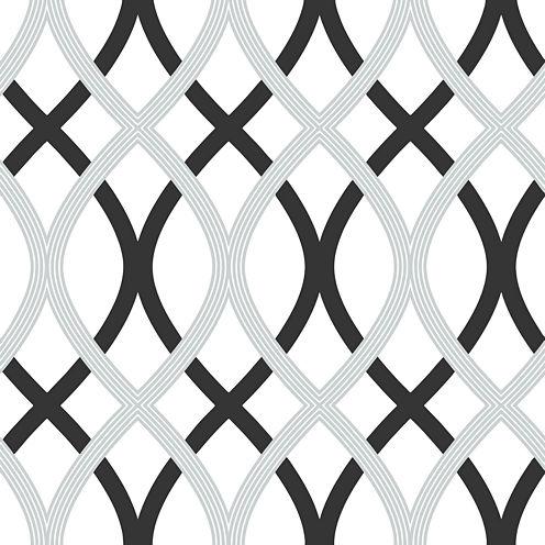 Lattice Peel-and-Stick Wallpaper