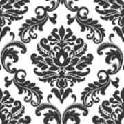 Damask Peel-and-Stick Wallpaper