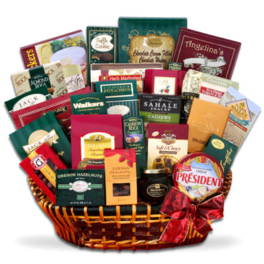 jcpenney.com | Alder Creek Gourmet Extravagance Sweet and Savory Gift Basket