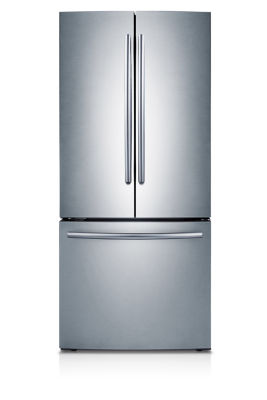 "Samsung 21.8 Cu. Ft. 30"" Wide French Door Refrigerator by Samsung"