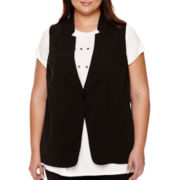 BELLE + SKY™ Sheer-Back Vest - Plus