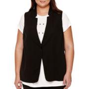 BELLE + SKY™ Sheer-Back Vest - Plus