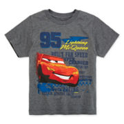 Disney Collection Cars Lightning McQueen Graphic Tee - Boys 2-10