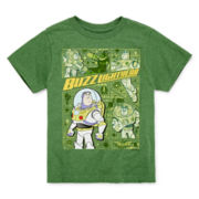 Disney Collection Buzz Lightyear Graphic Tee - Boys 2-10