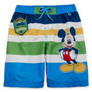 Disney Collection Mickey Mouse Swim Trunks - Boys 2-8