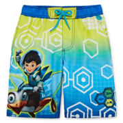 Disney Collection Miles Swim Trunks - Boys 2-8