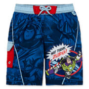 Disney Collection Toy Story Swim Trunks - Boys 2-10