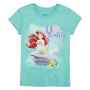 Disney Collection Ariel Graphic Tee - Girls 2-10
