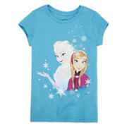 Disney Collection Frozen Graphic Tee - Girls 2-10