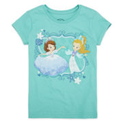 Disney Collection Sofia Mermaid Graphic Tee - Girls 2-10
