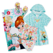 Disney Collection Frozen 2-pc. Swimsuit, Cover-Up, Flip Flop or Towel
