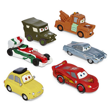 jcpenney com   Disney Collection Cars Bath Toy Set. Disney Collection Cars Bath Toy Set   JCPenney