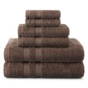 Home Expressions™ 6-pc. Solid Bath Towel Set