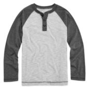 Arizona Raglan Henley - Boys 8-20 and Husky