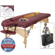 "Master® Massage Geneva Therma-Top™ LX 30"" Heated Massage Table Set"