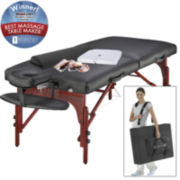 "Master® Massage Montclair Pro 31"" Portable Massage Table Set"