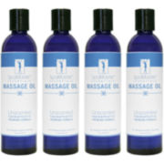 Master® Massage 8-oz. 4-pack Unscented Massage Oil