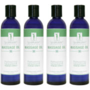 Master® Massage 8-oz. 4-pack Refreshing Blend Massage Oil