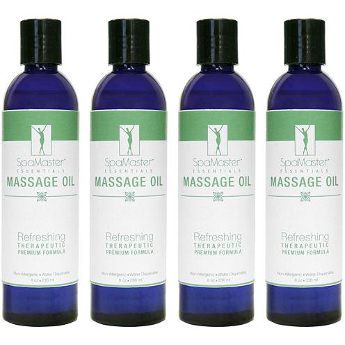 Master® Massage 8-oz. 4-Pack Refreshing Blend Massage Oil
